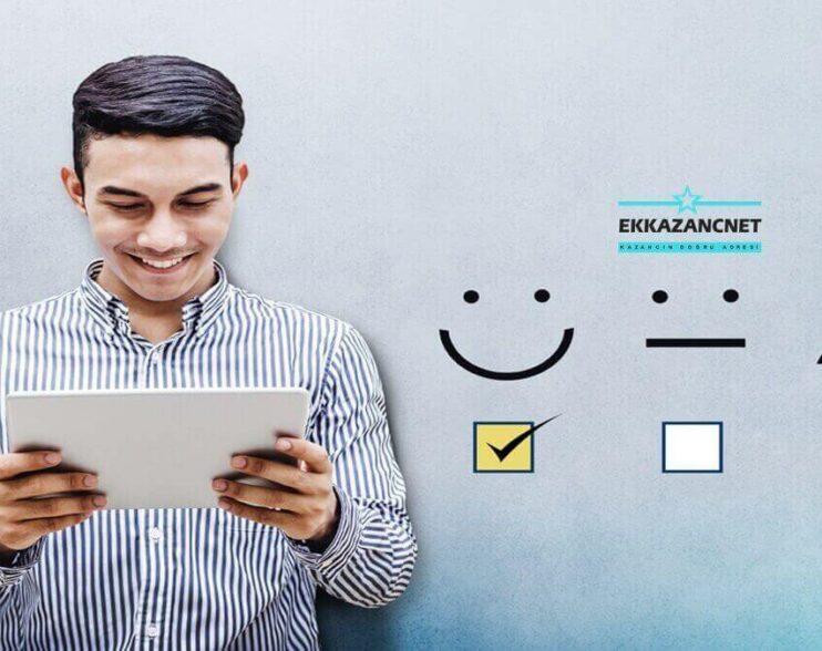 Anket Doldurarak Para Kazanmak - EkKazanç.Net